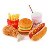 zolly toys fastfood hračka pro psy