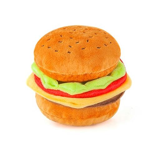 zolly toys hamburger hračka pro psy