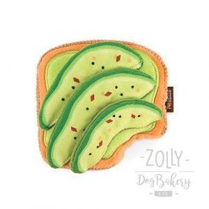zolly petplay hracky pro psy avokado toast