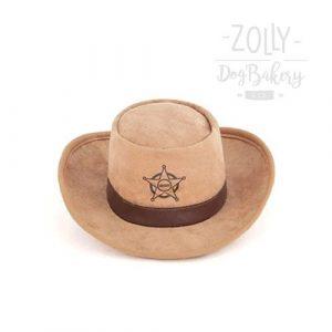 zolly petplay hracky pro psy klobouk sheriff