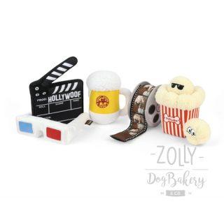 zolly hracky pro psy petplay hollywoof klapka pivo pupcorn 3d bryle